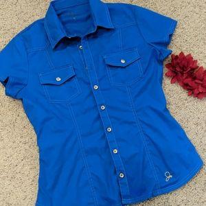 🌵Jaanuu royal blue scrub top
